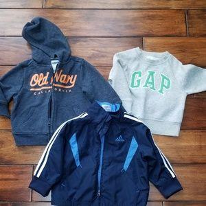 Toddler hoodies/jacket